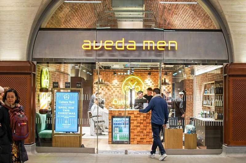 Aveda Men - Cutters Yard - London Bridge Station