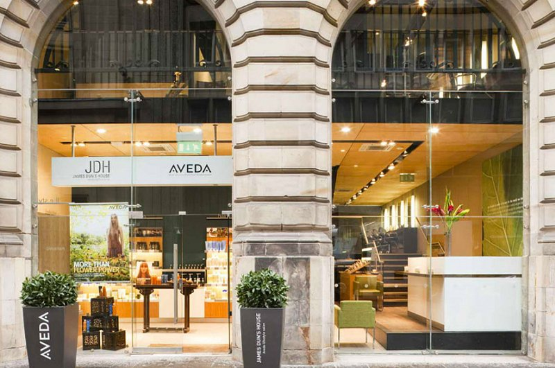 Aveda Lifestyle Salon & Spa - JDH (James Dunn House) Glasgow, UK