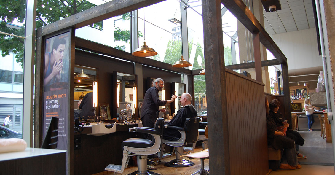 Aveda Institute Retail Area