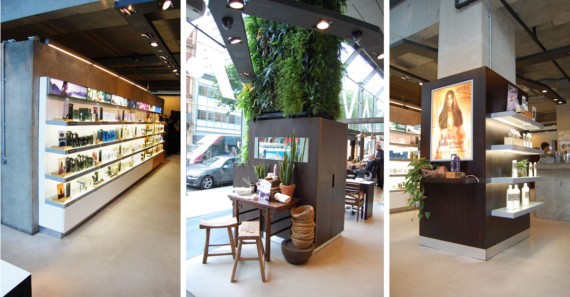 Aveda Living wall