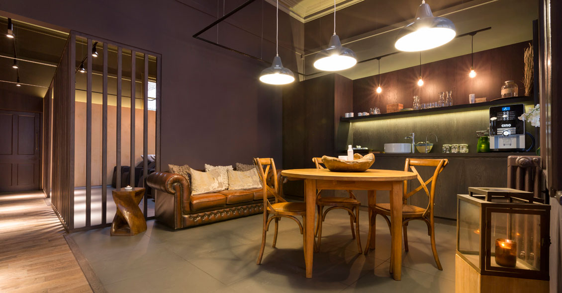 interior salon design for Aveda