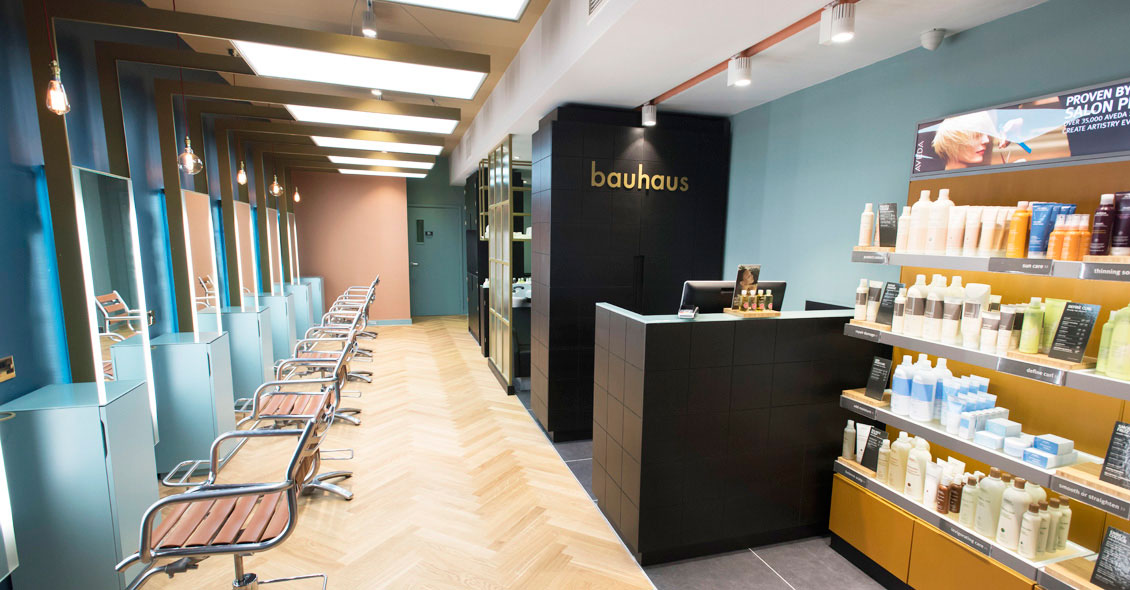 Salon design for Bauhaus Cardiff