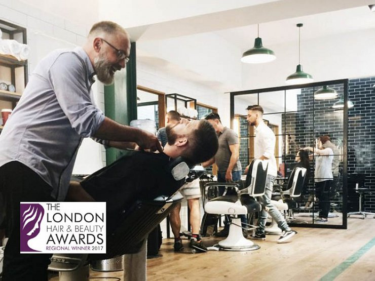 Winner! Barbers Shop of the Year
