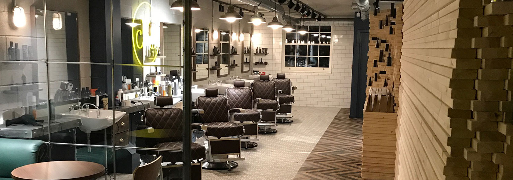 Aveda Mens barbers shop