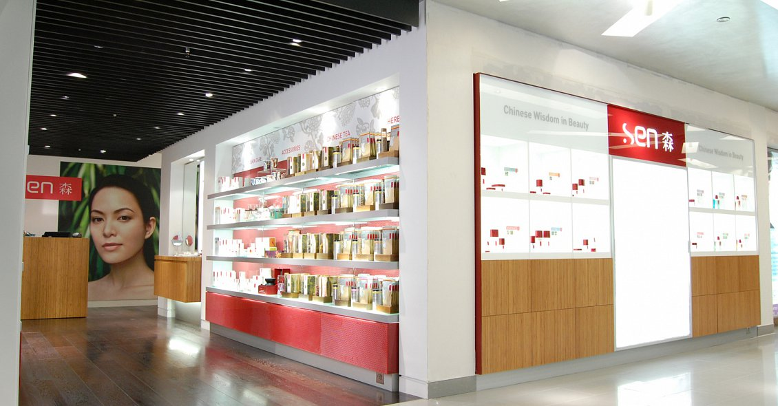 cosmetics retail design