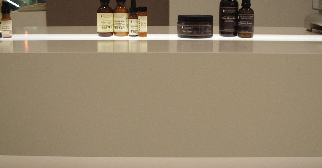 Our Retail design services for N.V. Perricone