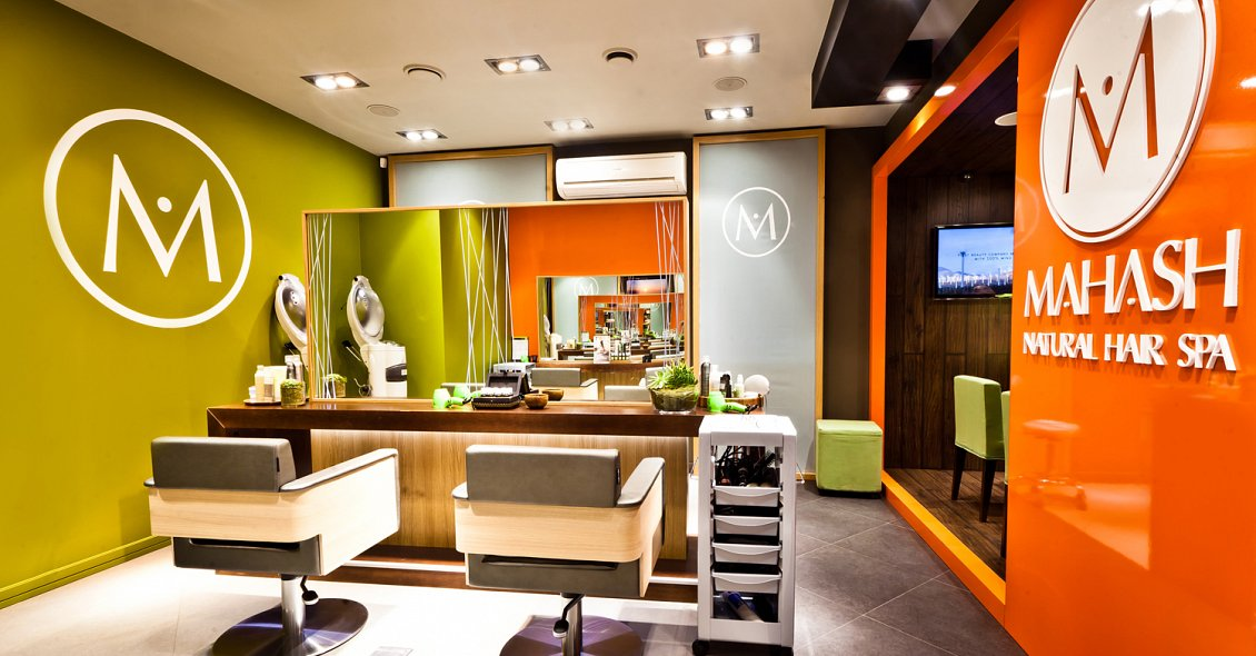 Spa Design for Mahash Natural Hair Spa