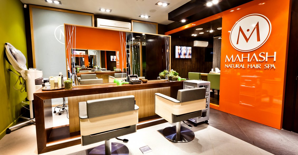 Mahash Natural Hair Spa Design