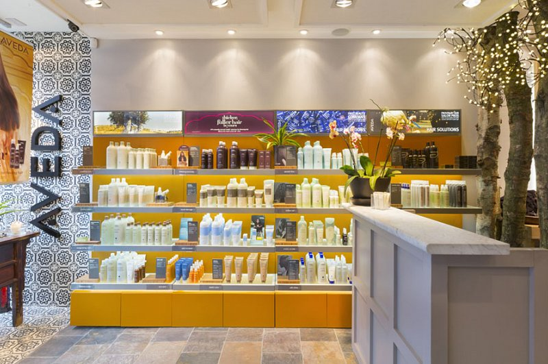 Aveda Lifestyle Salon & Spa design - Putney