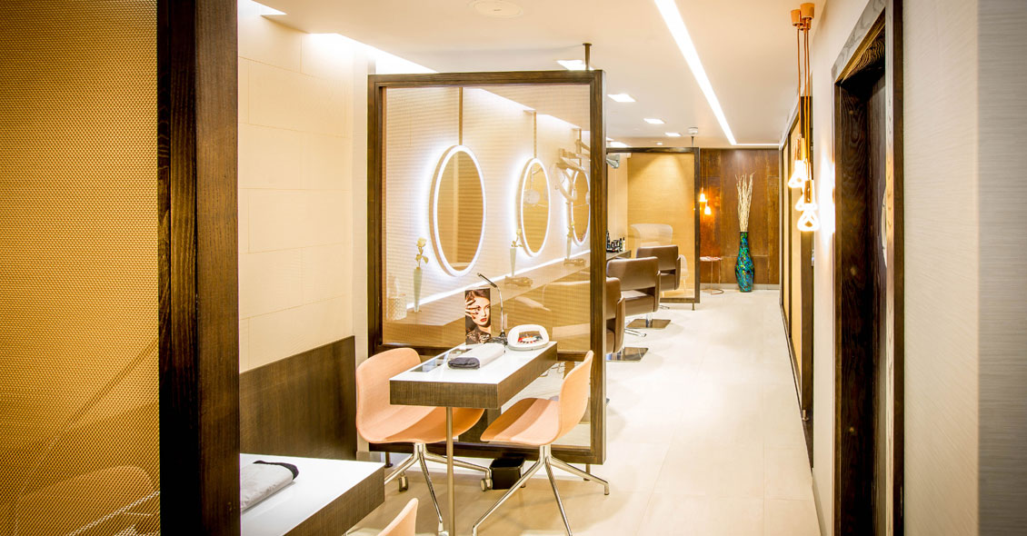 Salon design for Ruma Southampton