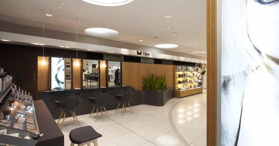 Aveda lifestyle salon sydney australia reis design for Sydney salon